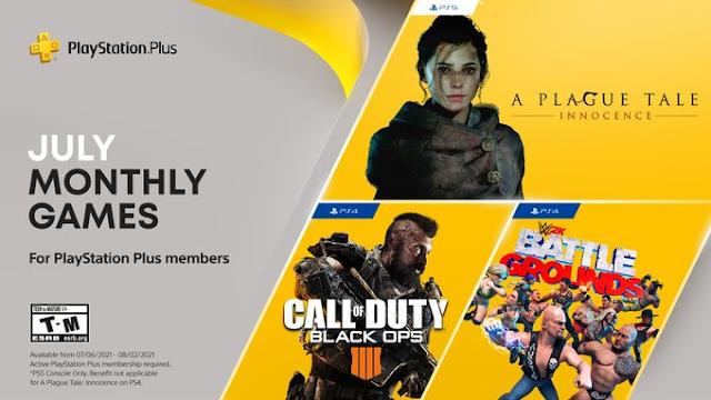 PlayStation Plus confirmó los videojuegos gratis para julio