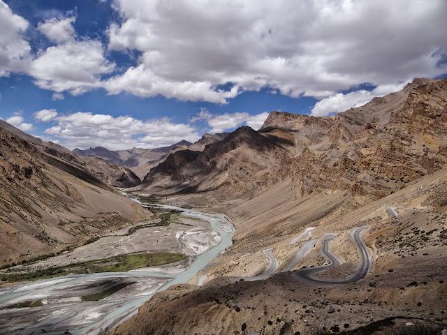 Gata loops, Leh-Manali Highway