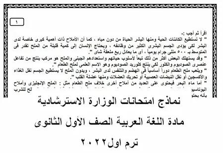 نماذج الوزارة الاسترشادية للصف الأول الثانوي 2021,نماذج الوزارة الاسترشادية للصف الأول الثانوي فيزياء,امتحان اللغة العربية للصف الأول الثانوي 2020,امتحان اللغة العربية للصف الأول الثانوي,امتحان اللغة العربية للصف الثالث فني 2021 الترم الأول,النماذج الإسترشادية للصف الأول الثانوى الترم الأول 2021,نماذج الوزارة الاسترشادية للصف الثانى الاعدادى,امتحان اللغة العربية للصف الثاني الثانوي,حلول نماذج الوزارة الاسترشادية للصف الثانى الاعدادى