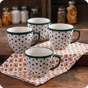 dot mugs