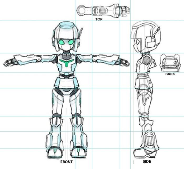 Robot-t-pose-2