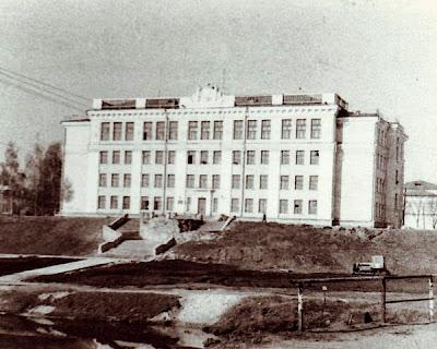 Здание Дома пионеров, построено в 1961 году