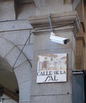 Cámaras de seguridad en el distrito de Tetuán
