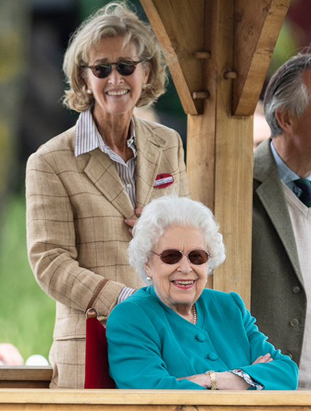 The Queen Flies Back to Windsor from Scotland for Royal Windsor Horse Show