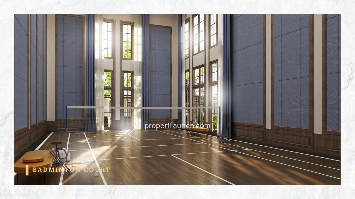 Bukit Podomoro Badminton Court