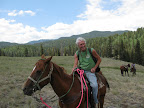 Trail ride, Paseo del Lobo July 13-15 (Photo by C. Miller)