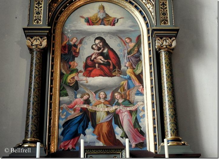 Marienbild Franziskaner