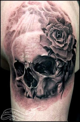Skull Tattoos   October39s Skull of the MonthWELCOME TO A WORLD OF
