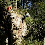 Rapelling Trip - Hemlock Cliffs