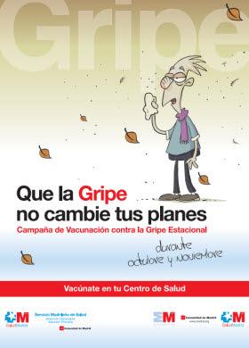 Campaña de vacunación contra la gripe 2014 en la Comunidad de Madrid