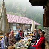 Almfrühstück auf der Latscher Alm am 08.06.2010