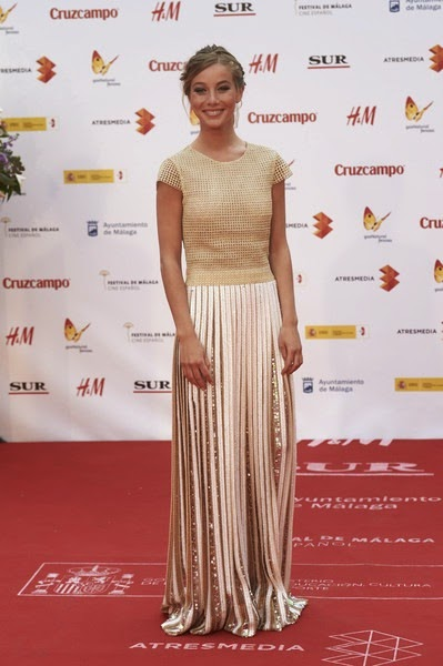 Charlotte Vega attends the 18th Malaga Spanish Film Festival close ceremony