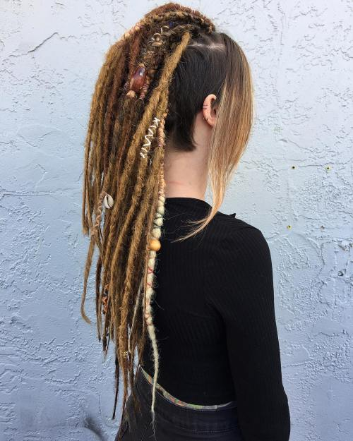 The Last Trendy Dreadlock Styles In Current Year For  woman 11