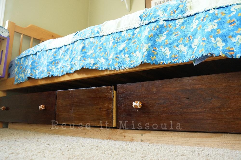 Reuse it - Underbed dresser