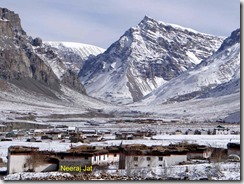 Losar Village in January
