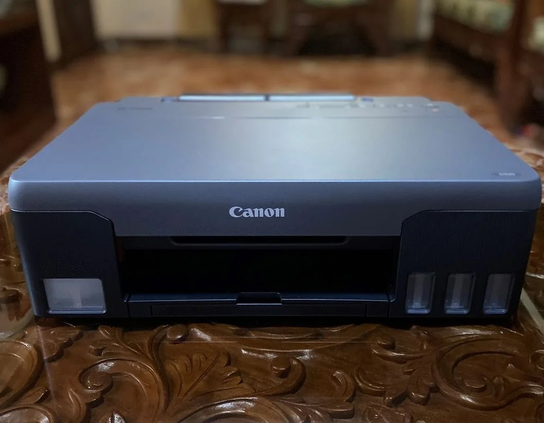 A Canon Pixma G1020 on a table