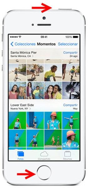 Hình 2 - Hướng dẫn cách chụp ảnh màn hình iPhone, iPad