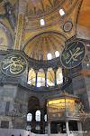 Aya Sophia: gebouwd als Kathedraal, werd toen Moskee, nu Museum