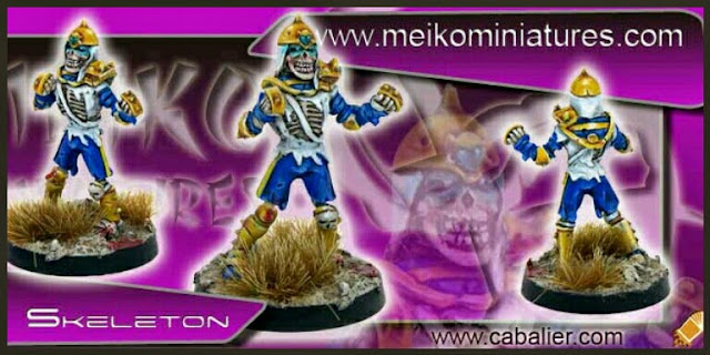 esqueleto Khemri Meiko Miniatures