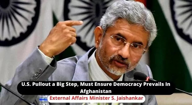 S Jaishankar, Minister of External Affairs