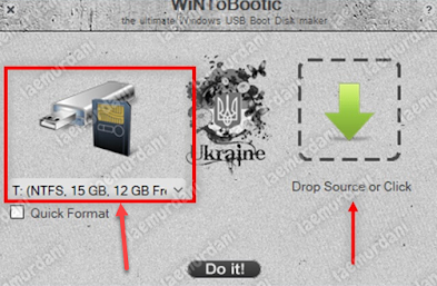 Membuat Bootable File Linux pada WinToBootic