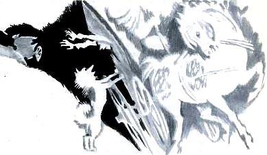 картинки к сказке воробей мышь блин
