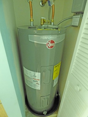 New Hot Water Heater Installed