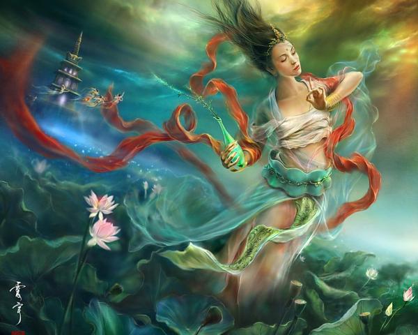 Undine Girl On The Lake, Fairies 3