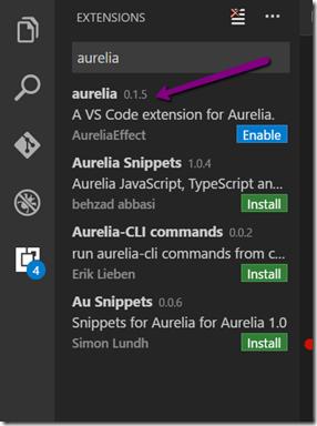 vscode-aurelia-plugin