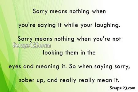 I am really Sorry  Image - 5