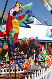 Colorful kites at Pier 39 (© 2010 Bernd Neeser)