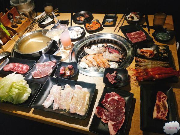嘉義食記-好客燒烤一盅酒來一口肉,肉滿意歡海鮮飽。吃到飽燒烤/嘉義秀泰店/酷聖石/澎湖生蠔吃到飽