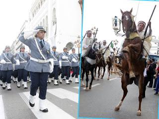 61e anniversaire du déclenchement de la révolution Alger s'offre une parade aux multiples facettes
