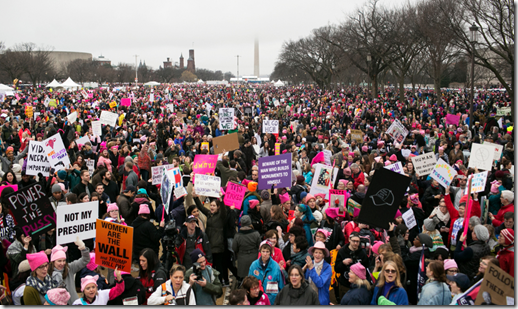 women's march Washington January 2017
