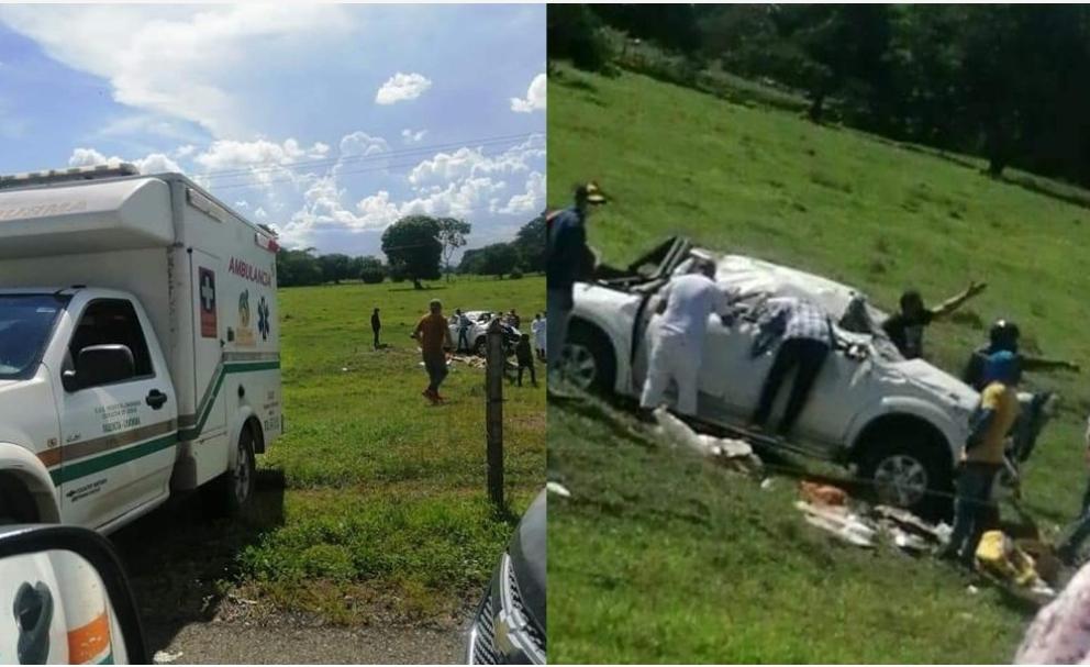 Carro se salió de la vía en Tierralta, un menor era trasportado en el vehículo