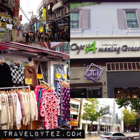 Hongdae Shopping