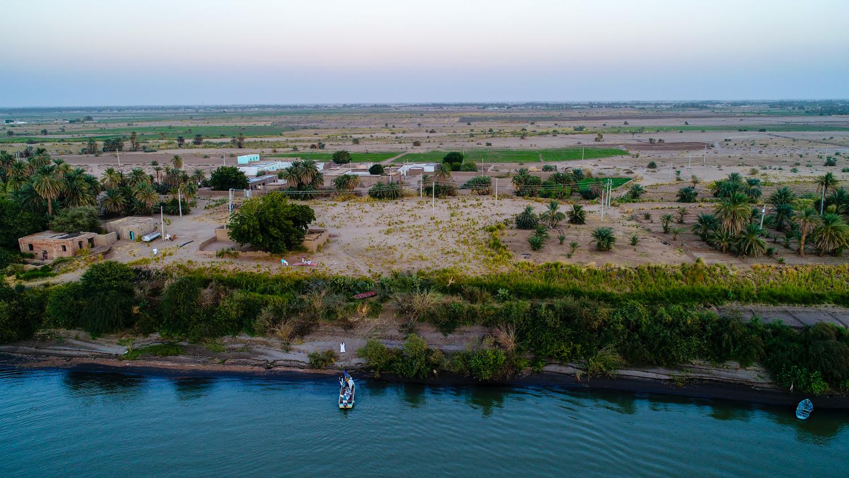 Photo of Nile with DJI Phantom drone