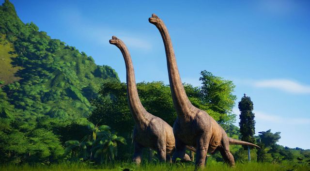 Jurassic World Evolution - Is free on Epic Games till  January 7th, 2021. This is the PC version of the game.