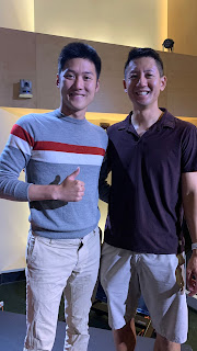 Alaric Moses Ong with Andy Yang, CEO of Indiegogo