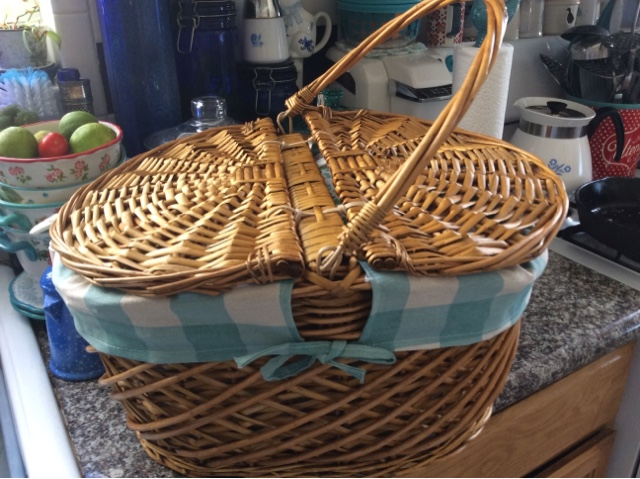 Pioneer woman picnic basket