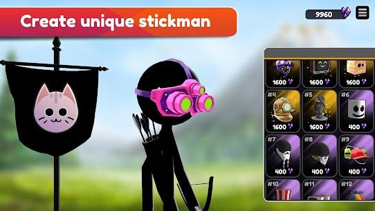Stickman Archer Online MOD (Unlimited Gold/Gems/Exp) 2
