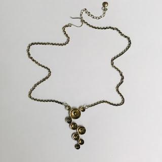 Sterling Silver Signed Modernist Necklace