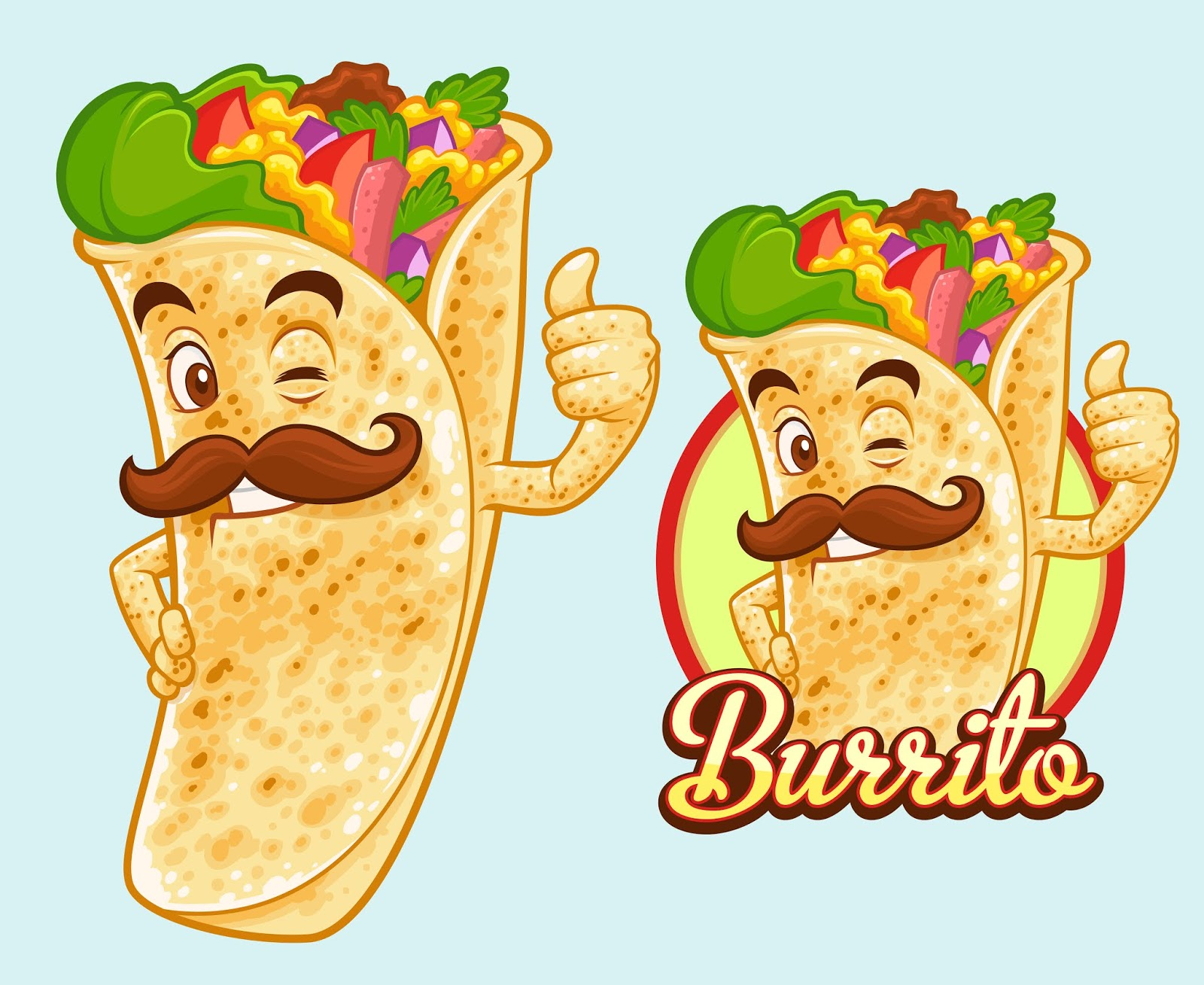 Burrito Mascot Design.jpg Free Download Vector CDR, AI, EPS and PNG Formats