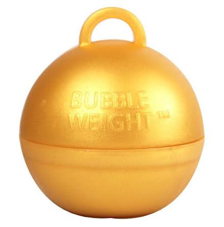 Ballongtyngd - Klot guld