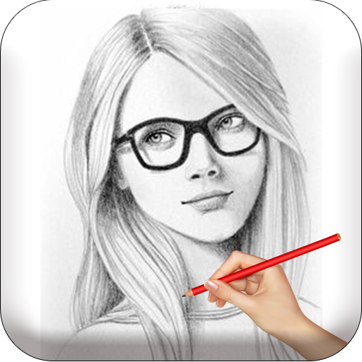 Color Photo Pencil Sketch - Art Drawing Cartoon