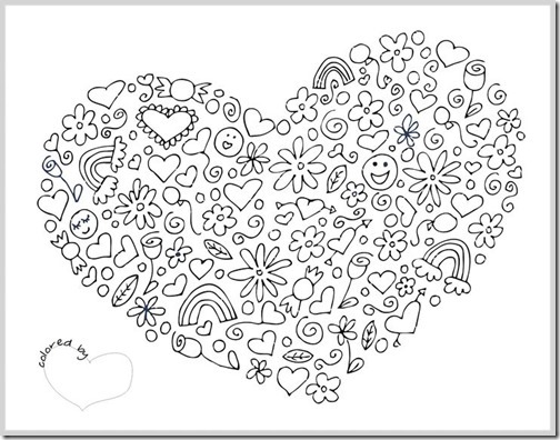 mandala coloring pages complicated love - photo#20