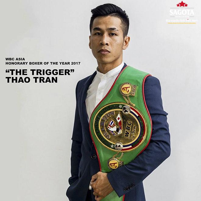 Trần Văn Thảo tạo nên cột mốc đáng nhớ cho bộ môn boxing Việt Nam