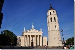 8 vilnius cathédrale de 1739 clocher séparé de 1522