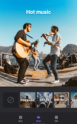Video Maker of Photos with Music & Video Editor APK screenshot thumbnail 5