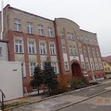 Remont elewacji Gimnazjum